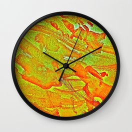 Bloody-Nature Abstract Wall Clock