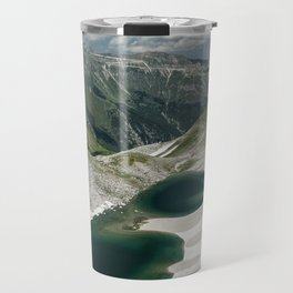 Pilato lake on the Sibillini mountains Travel Mug