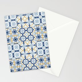 Mixed Portuguese Azulejos  Stationery Cards