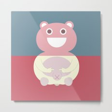 Pantless Project / TEDDY Metal Print