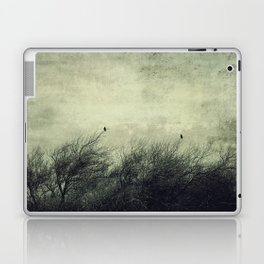 Talk to me ~ Birds silhouettes Laptop & iPad Skin