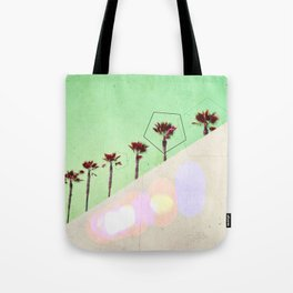 Levitated Mass (Green) Tote Bag