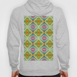 94 - colour abstract pattern Hoody