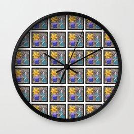 The Wallflower Wall Clock