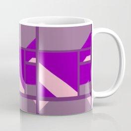 Please Pink, Maybe Mauve, Patterned Purple Coffee Mug