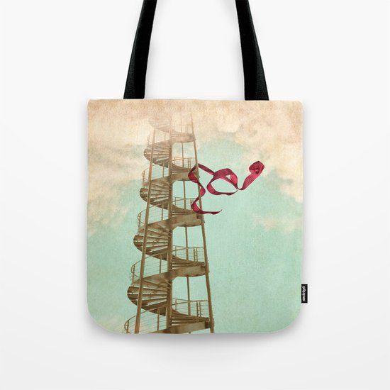 Stair way to nowhere Tote Bag
