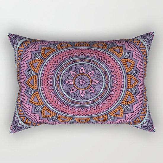 Hippie mandala 54 Rectangular Pillow