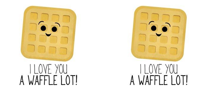 I Love You A Waffle Lot! Coffee Mug