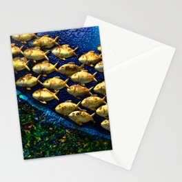 And They Swam  Stationery Cards