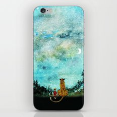 Calvin And Hobbes iPhone & iPod Skin