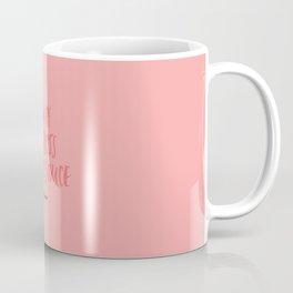 You're The Boss Applesauce - Pink Coffee Mug