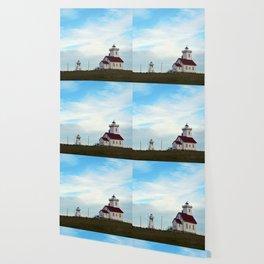 Wood Islands Lighthouse Compound Wallpaper