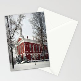 Side View of the Iron County Courthouse Stationery Cards