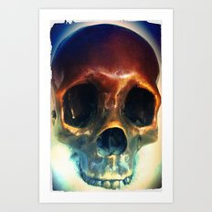 All You Need is Skull. Art Print