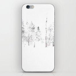 Trees in Winter Vignette | Prospect Landscape | Nadia Bonello | Canada iPhone Skin