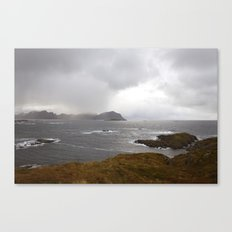 Lofoten Seaview Canvas Print