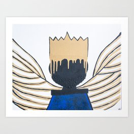 Joshua's Crown Art Print