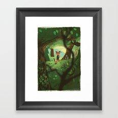 A Good Place To Start Framed Art Print