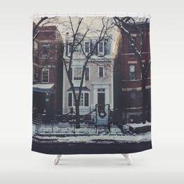 Snowy Chicago Shower Curtain