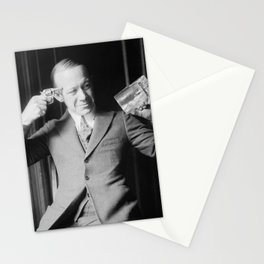 Death or Alcohol - Ernie Hare - Prohibition Photo Stationery Cards