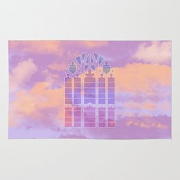 Stained Glass Sky Rug