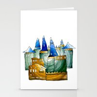 castle Stationery Cards featuring Castle by Irina  Mushkar'ova