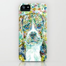 WATERCOLOR BEAGLE iPhone Case