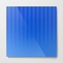 Gradient Stripes Pattern ib Metal Print
