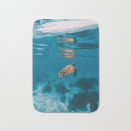 Turtle iii Bath Mat