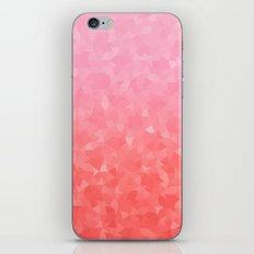 Ombre Pink iPhone & iPod Skin