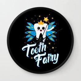 Cute Tooth Fairy Gift Wall Clock