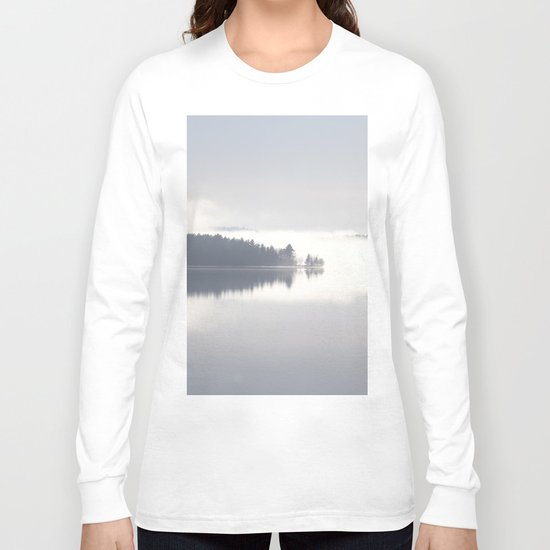 Reflecting By The Lake Long Sleeve T-shirt