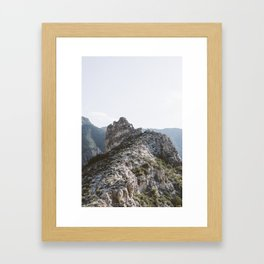 Guadalupe Mountains Framed Art Print