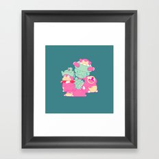 Slow Your Role Framed Art Print