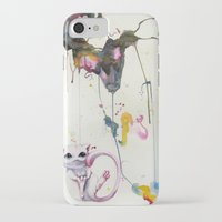 mew iPhone & iPod Cases featuring Mew by Shannon Gordy