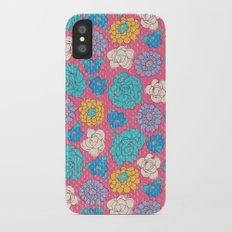 RocoFlowers (strawberry) iPhone X Slim Case