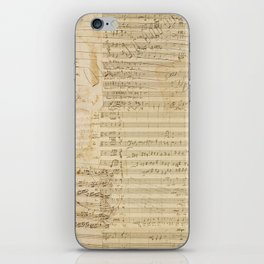 Classical music notations iPhone Skin