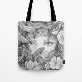 Fear of Snake Tote Bag