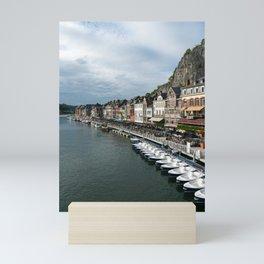 On the Meuse River Mini Art Print