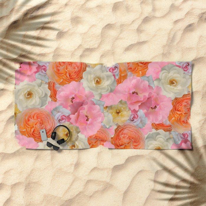 Bear witnes to the beauty Beach Towel