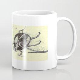 Dung Beetle Mint Coffee Mug