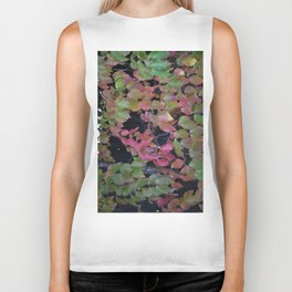 Pretty Fall Dogwood tree leaves Biker Tank