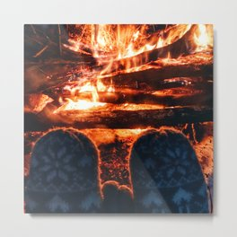 stay warm this winter Metal Print