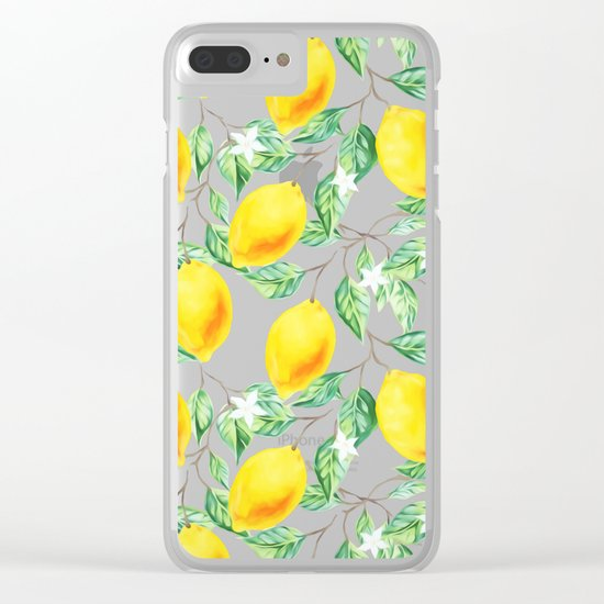 Lemon Fresh #society6 #decor #buyart Clear iPhone Case