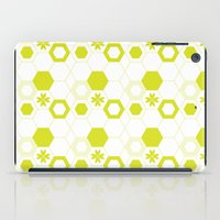 polygon iPad Cases featuring Polygon by Julianne Chia