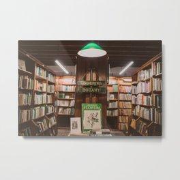 Bookstore magic corner Metal Print