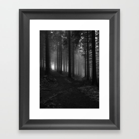 Choose your way Framed Art Print