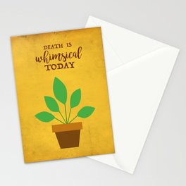 Death Is Whimsical Today - The Professional Stationery Cards