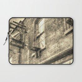 The Anchor Pub London Vintage Laptop Sleeve