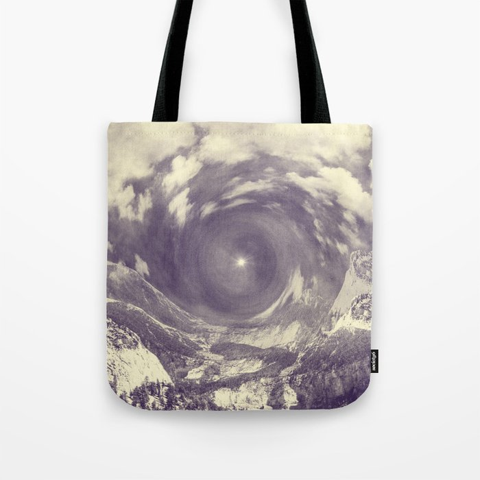 Embrace of the Tempest Heart Tote Bag